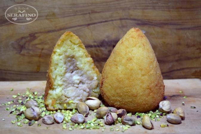 Arancina al pistacchio